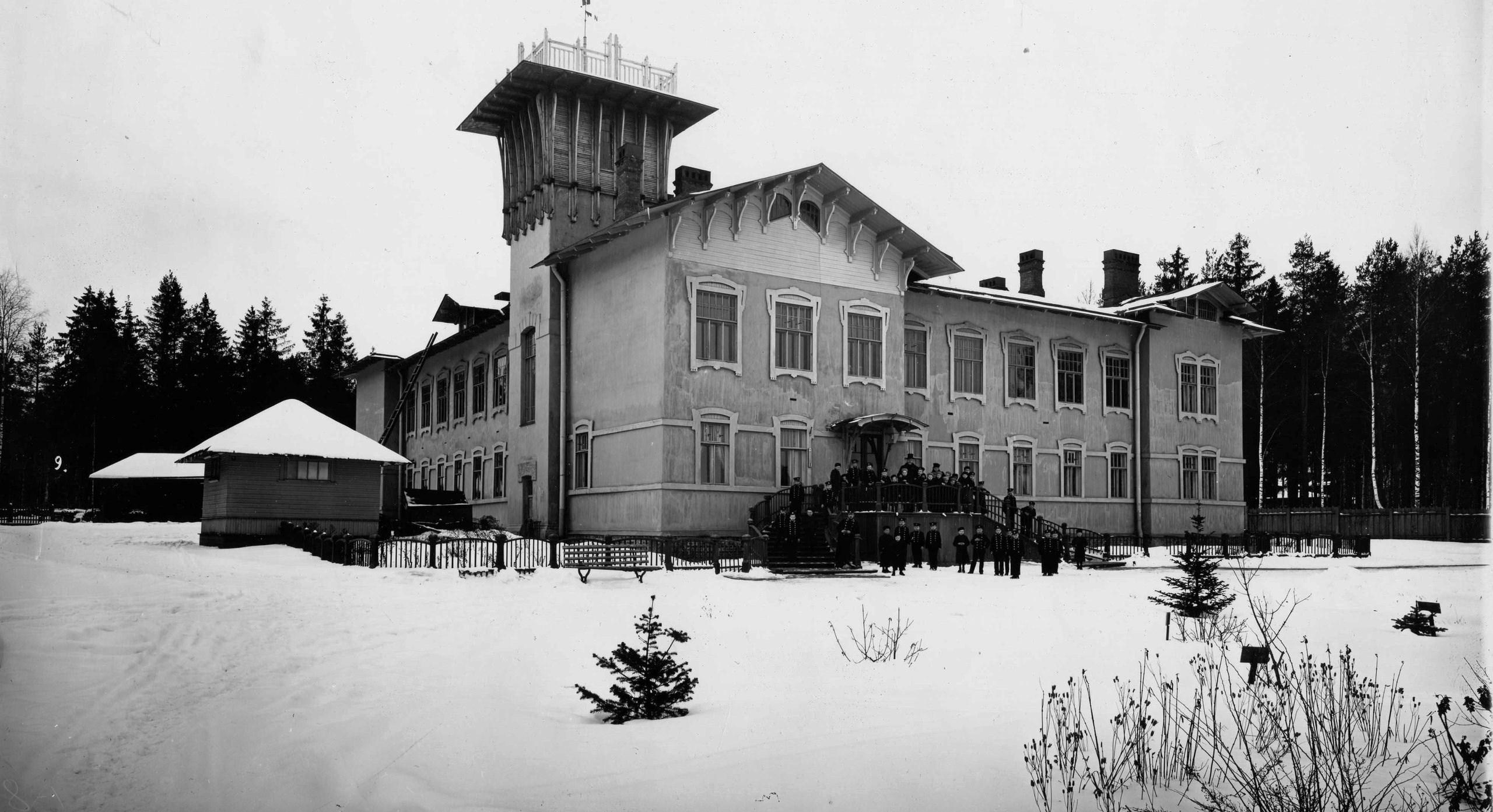 Здание старших классов приюта принца Ольденбургского