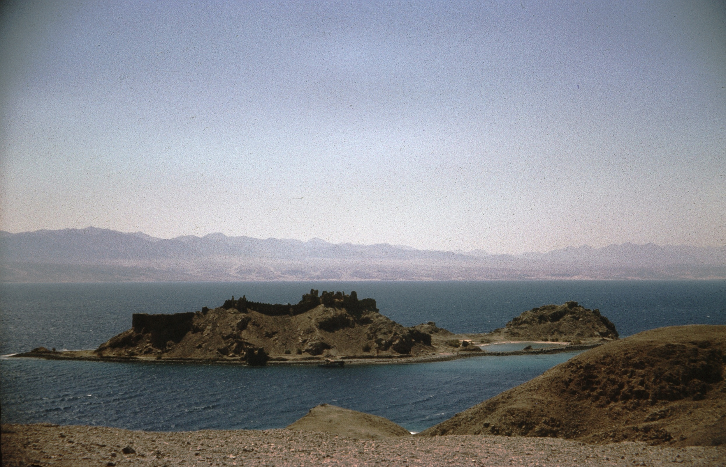 Коралловый остров к югу от Эйлата
