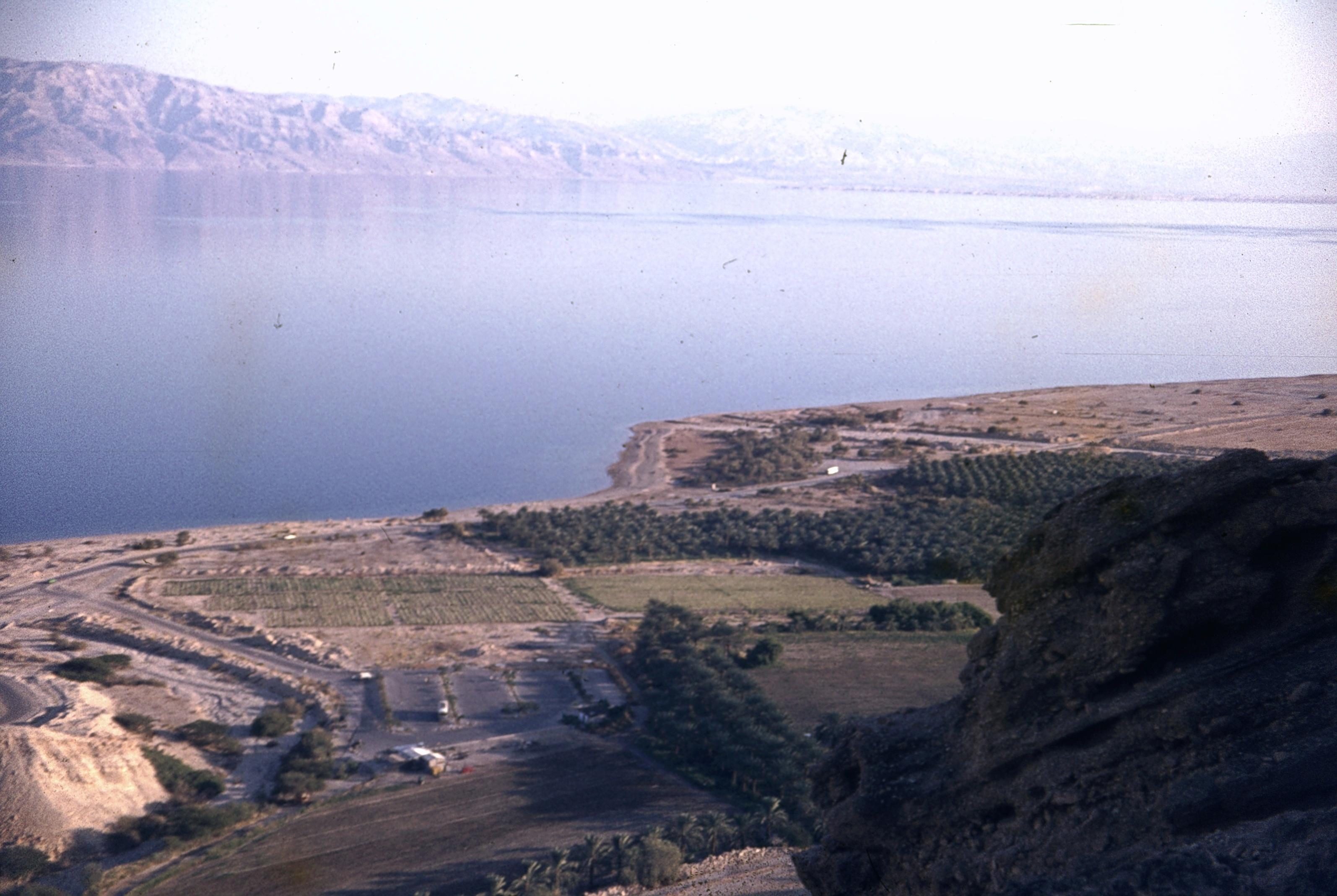 Вид на Мертвое море из Эйн-Геди