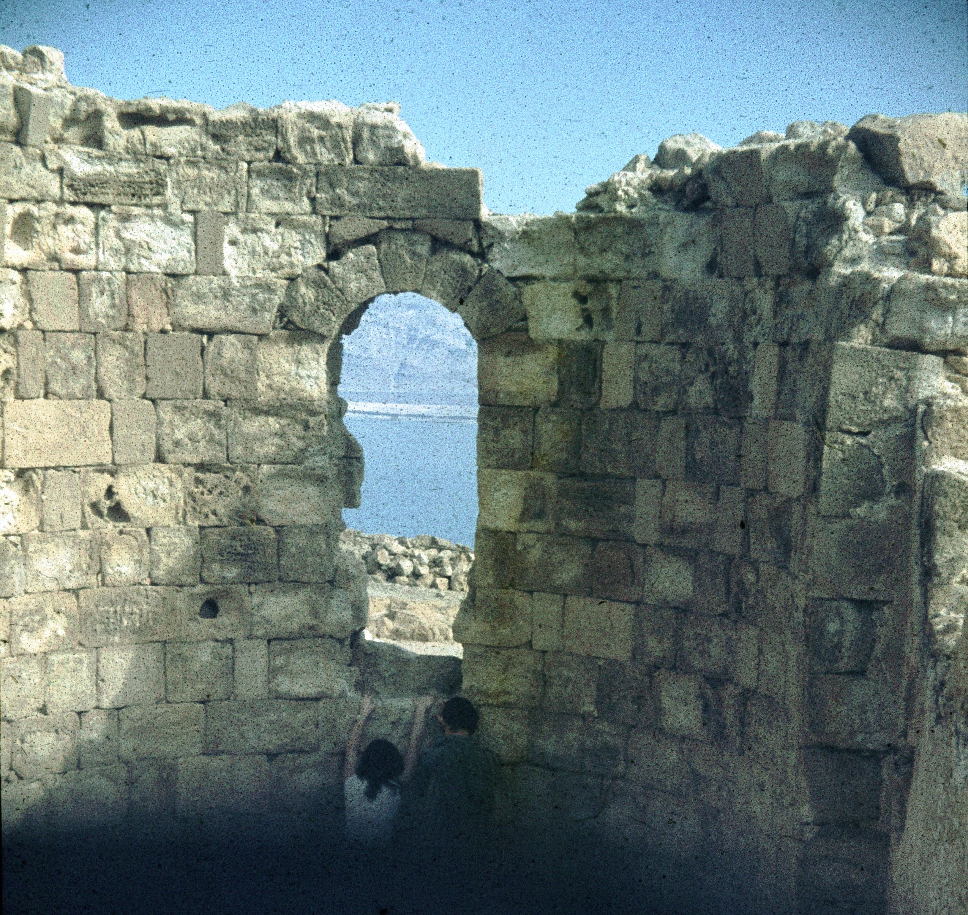 Масада. Руины византийской церкви