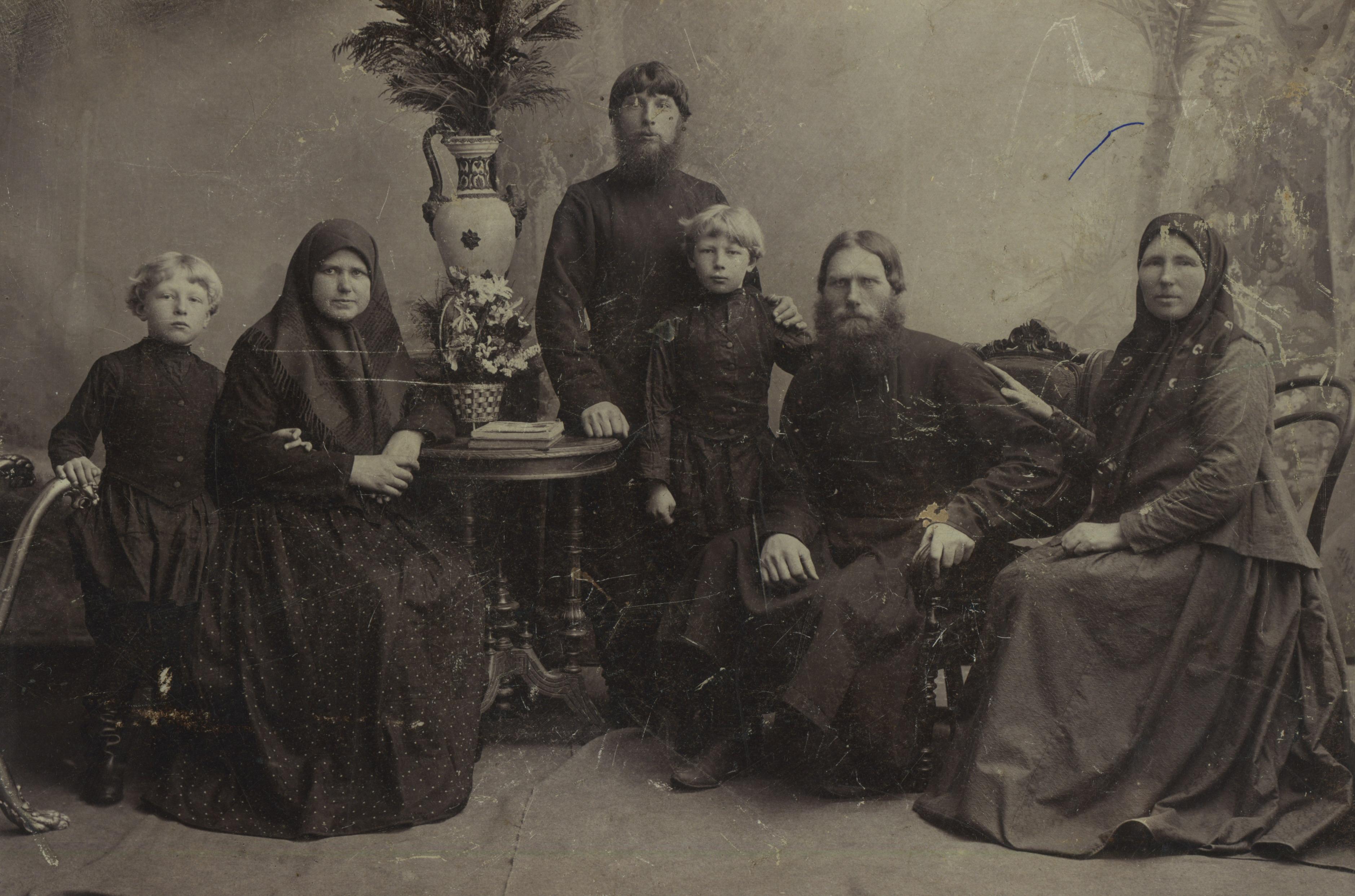 Семья Смирновых – старообрядцев из Александровки. 1910-е