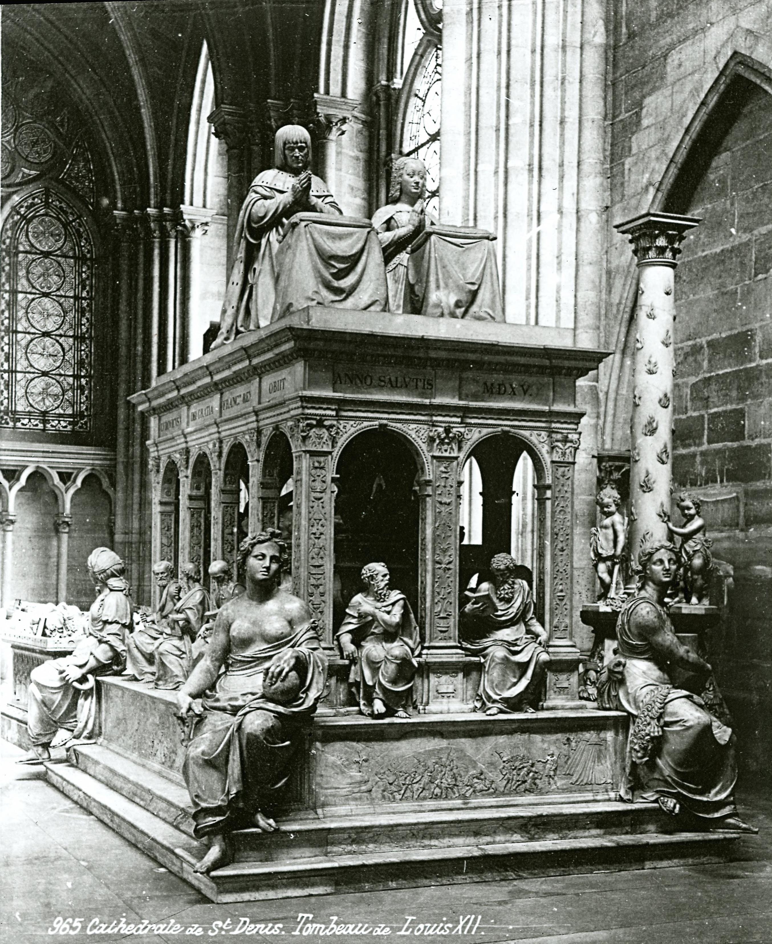Аббатство Сен-Дени. Усыпальница Людовика XII