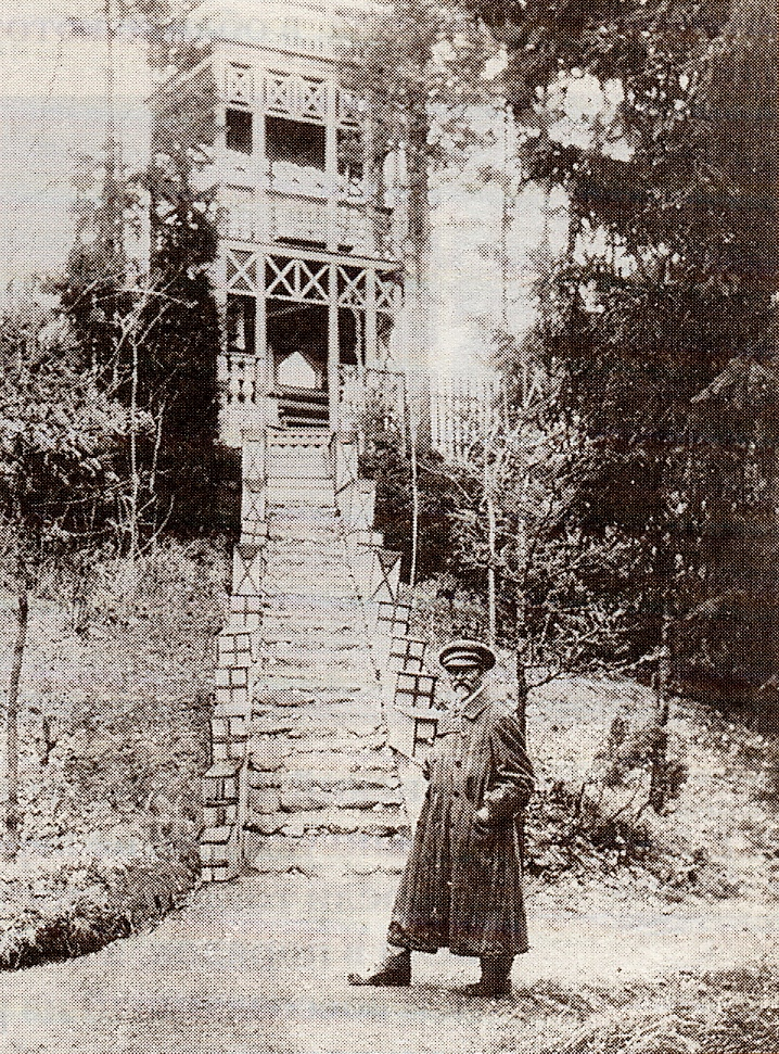 Репин у башенки Шехерезады