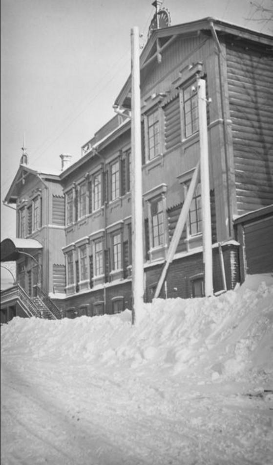Дом Бьёрна Алексиса Аминова, Матусевича и Кая Доннера в Томске. 1911