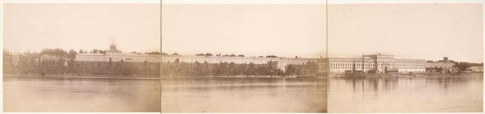 16. Правый берег реки Висла. Вид на крепость