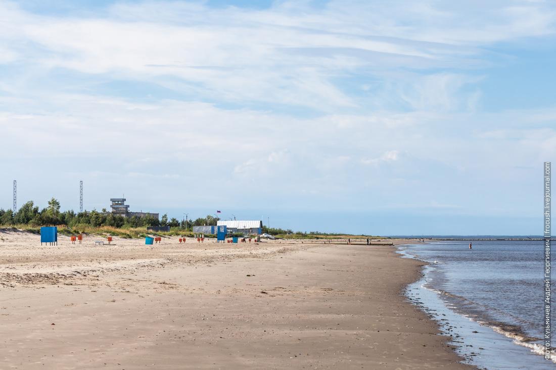 Северодвинск набережная и пляж на Яграх
