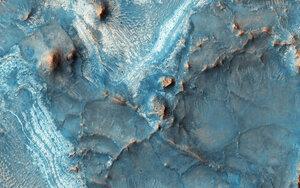 Марсианская область Nili Fossae. 1