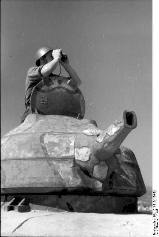 Italien, italienischer Soldat in Kьstenbatterie