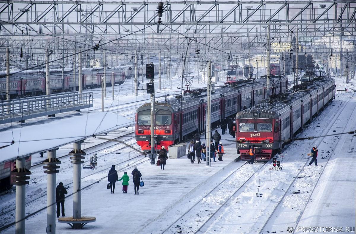 Привокзальная территория станции Новосибирск-Главный