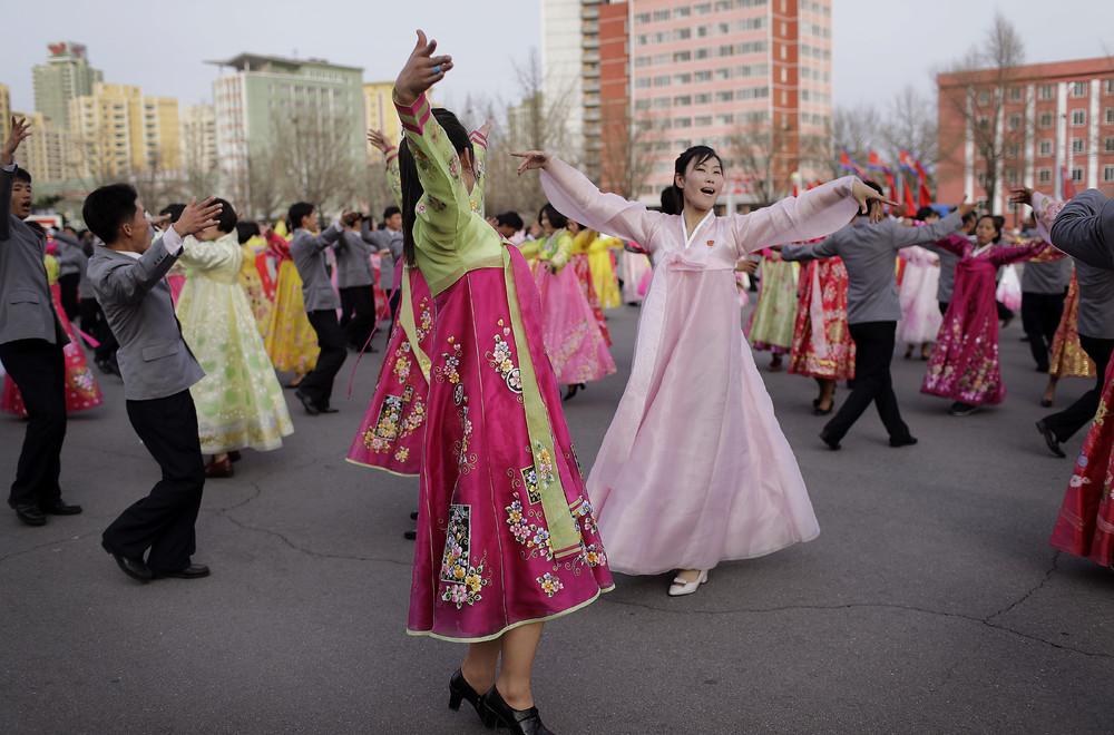 Снимки повседневной жизни в Северной Корее