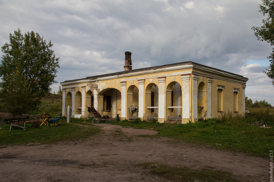 alexbelykh.ru, Анненские укрепления, кордегардия
