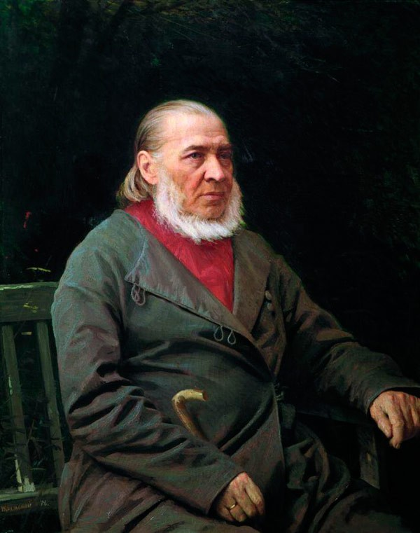 Портрет писателя Сергея Тимофеевича Аксакова..jpg
