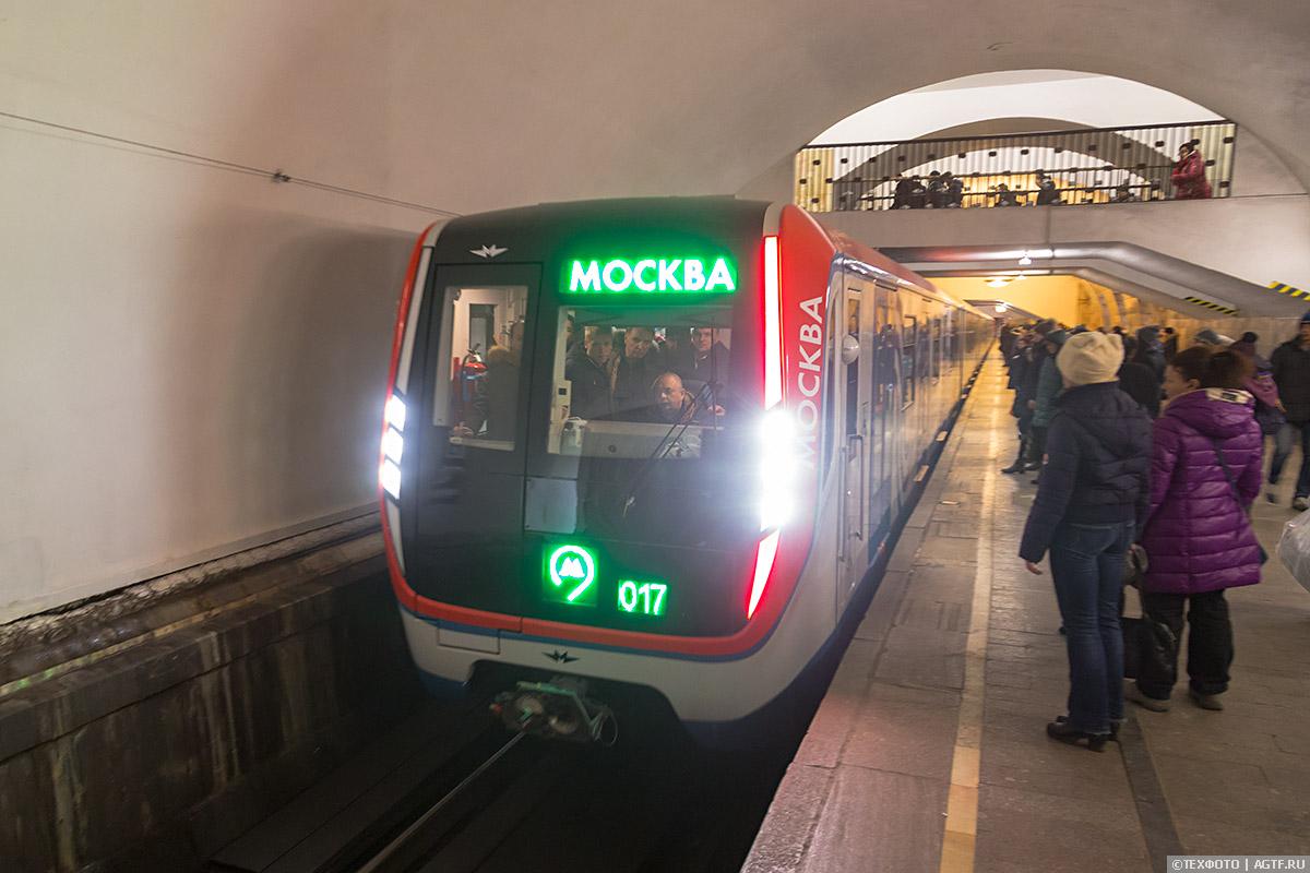 Поезд 81-756 Москва