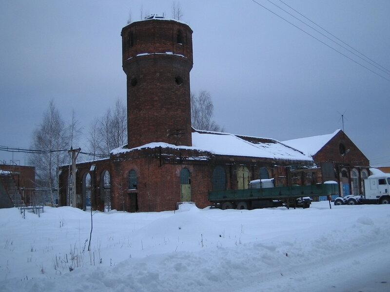 Водонапорная башня в Ситне-Щелканово
