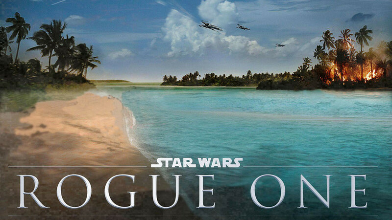 planet scarif star wars ROGUE ONE location Maldives Laamu Atoll