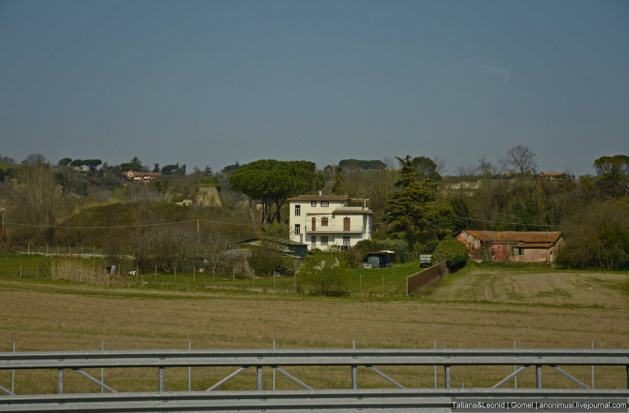 Дорога Рим - Флоренция