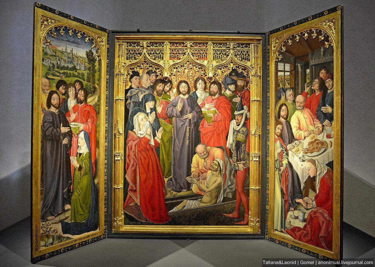 Воскрешение Лазаря - триптих. Никола Фроман