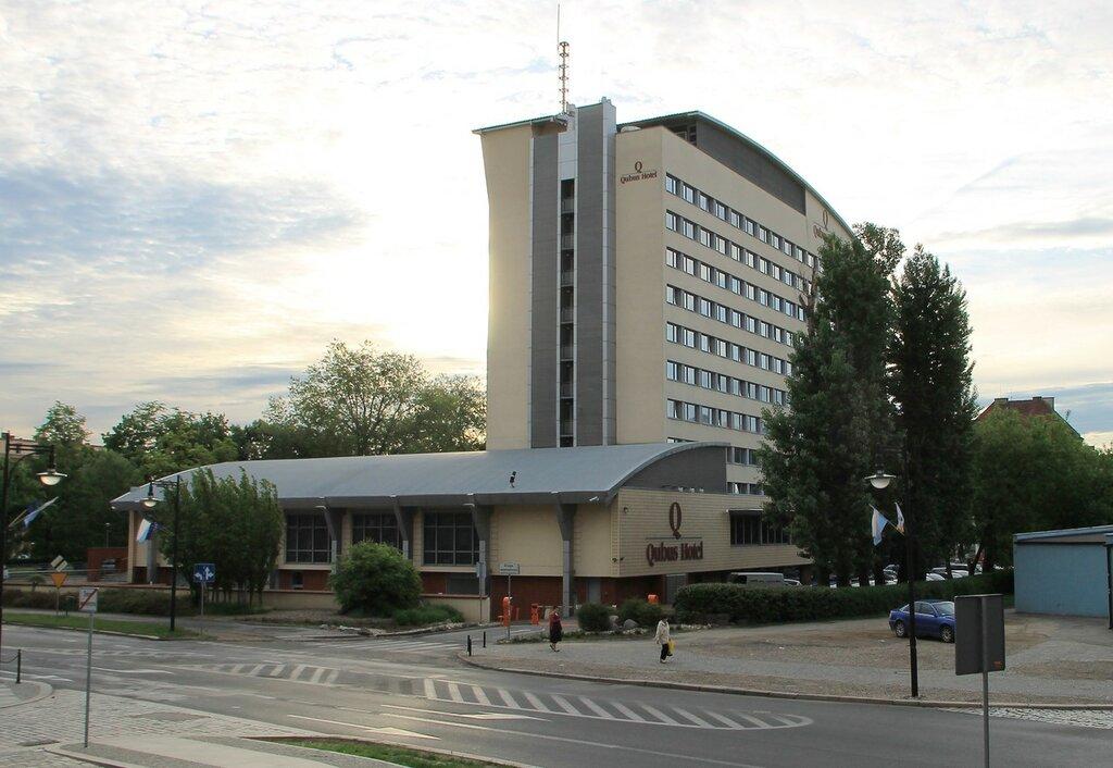 Легница. Отель Qubus