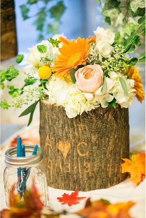 21. Деревянная ваза, как стильная деталь любого интерьера
