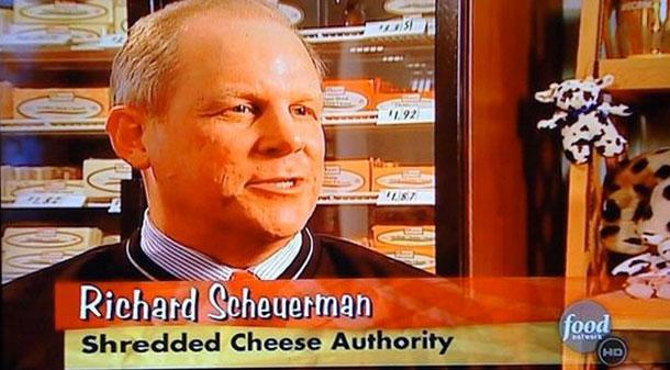 Ричард Шойерман, эксперт по тертому сыру.