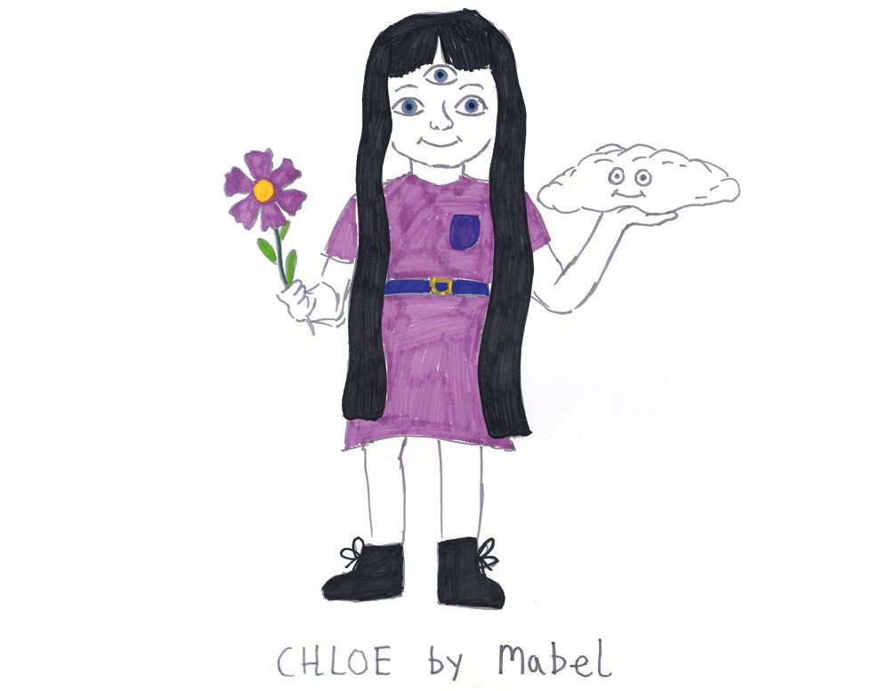 Девочка Хлои для Мейбл Брим (ст?удия BlinkInk)