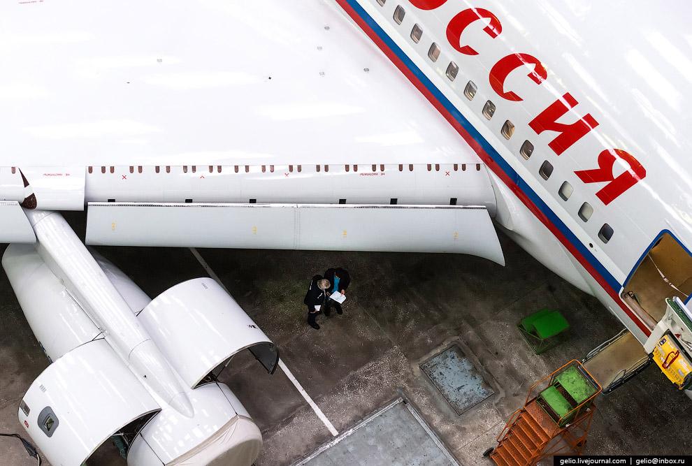 5. Современный Ил-96-300 может взять на борт до 300 пассажиров. Новая модификация Ил-96-400М с