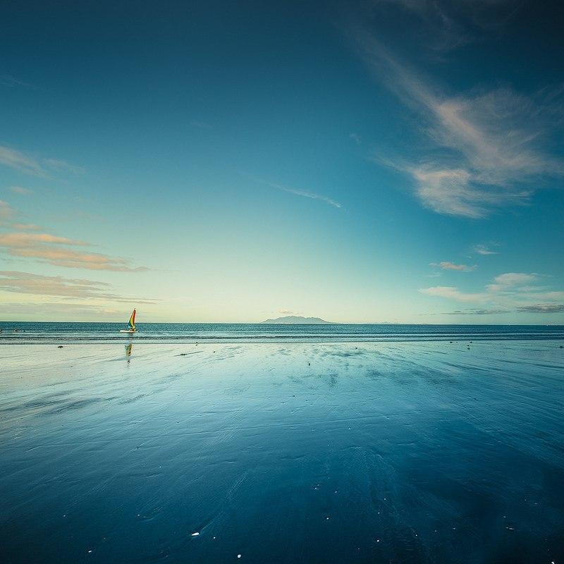Удивительно нежная красота океана