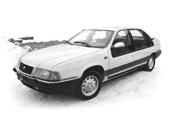 Именно с конца восьмидесятых га ГАЗе начинает в ускоренном режиме разрабатываться автомобиль , котор
