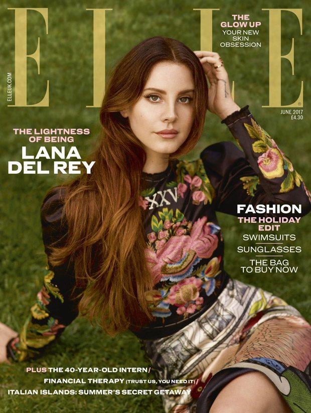 Лана Дель Рей в Elle Magazine