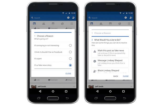 Фейсбук запустила функцию для борьбы с непроверенными новостями