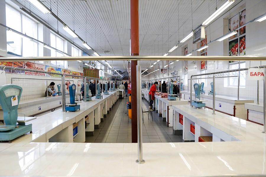 В русских магазинах уменьшился ассортимент товаров из-за акции протеста дальнобойщиков