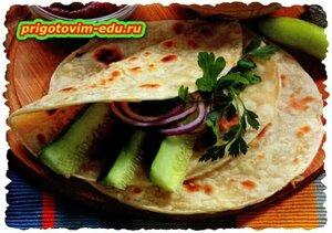 Туркменские лепешки по домашнему
