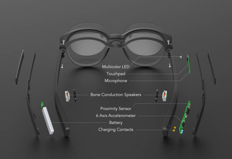 Vue Smart Glasses - Finally discrete and elegant connected glasses