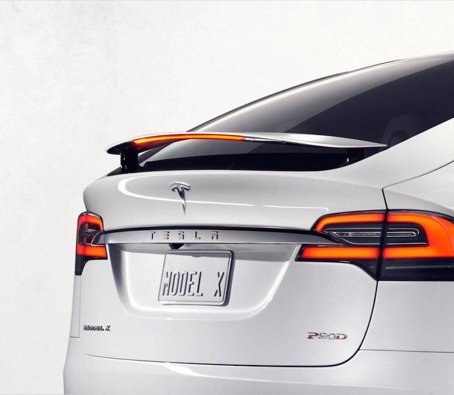 Tesla Model X Car