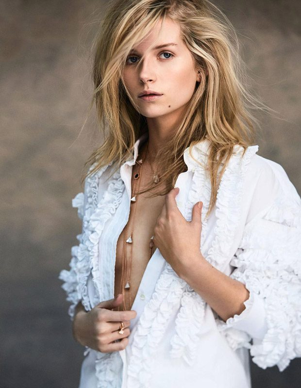 Lottie Moss Is the Cover Girl of Madame Figaro Latest Issue