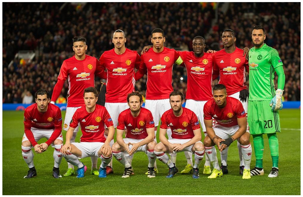 2017.03.16. Основной состав Манчестер Юнайтед
