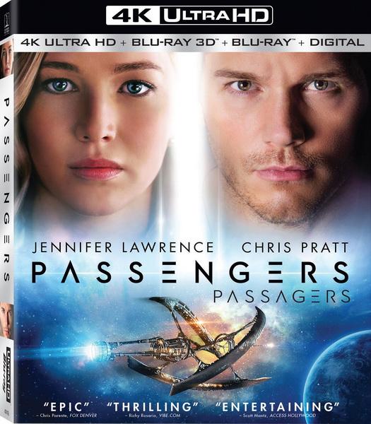 Пассажиры / Passengers (2016/BDRip/HDRip/3D)