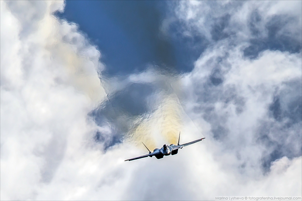 ПАК ФА и небо