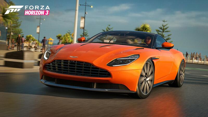 The Playseat Car Pack — новое дополнение для Forza Horizon 3