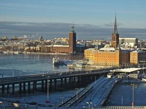 Стокгольм январский