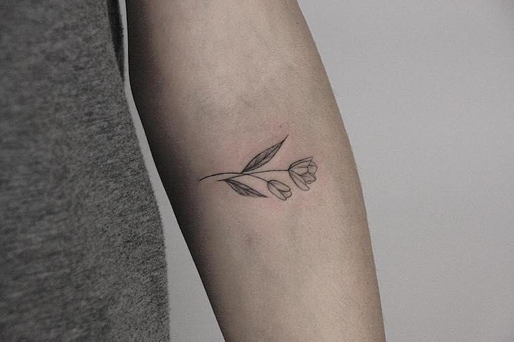 Tatuagens tao delicadas que parecem feitas a lapis (14 pics)