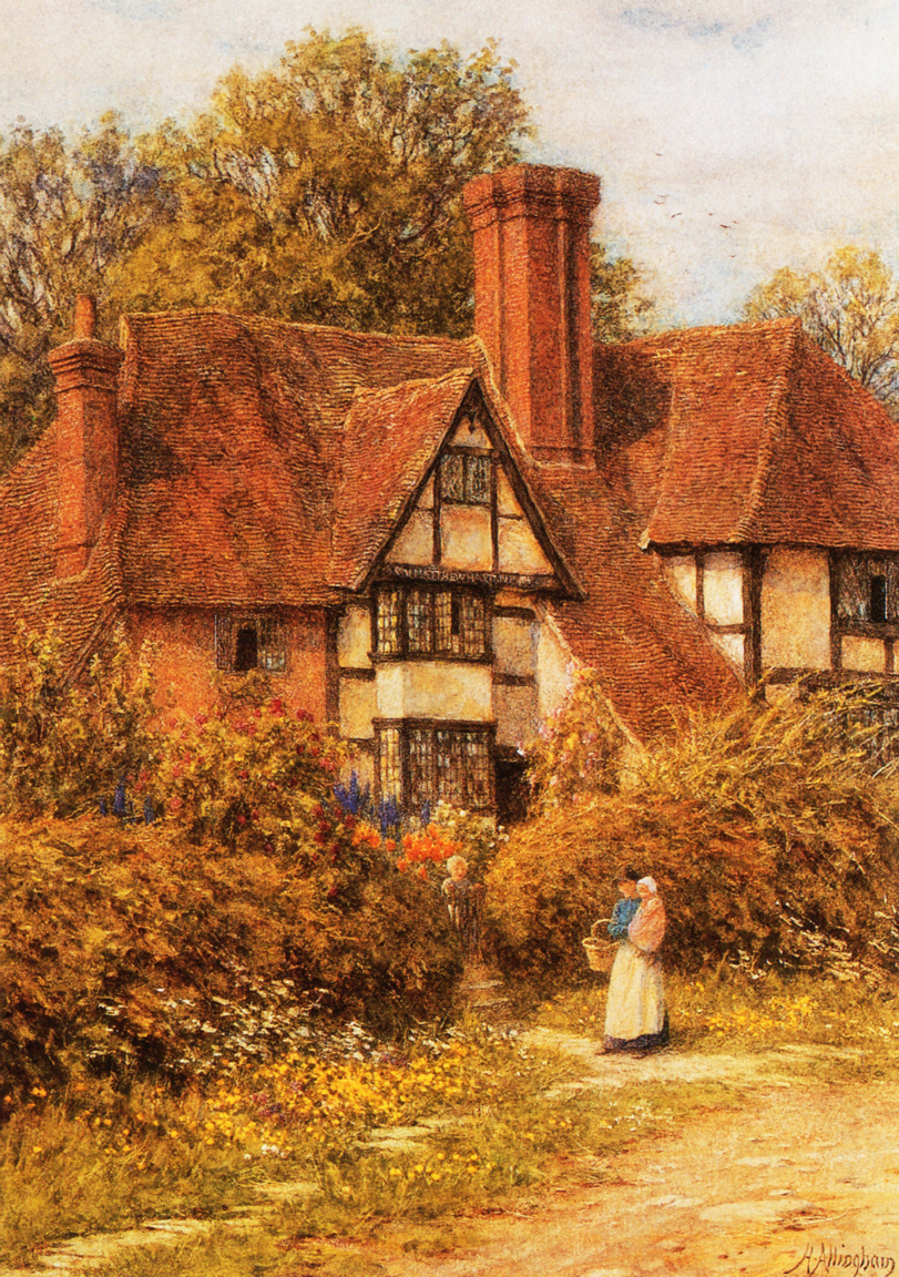 Helen Allingham - Manor House, Kent.jpg