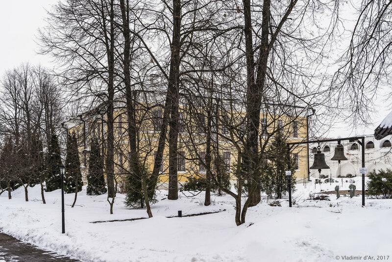 Певческий корпус (сер. XIX в.). Иосифо-Волоцкий монастырь