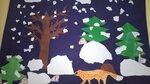 """Садонова Татьяна (рук. Садекова Валентина Сергеевна) - Аппликация """"Снег идет"""""""