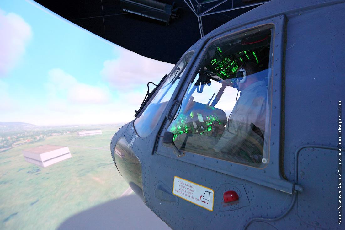 тренажер вертолета Ми-8МТВ фотография