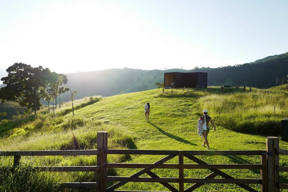 Модульный дачный домик в Бразилии