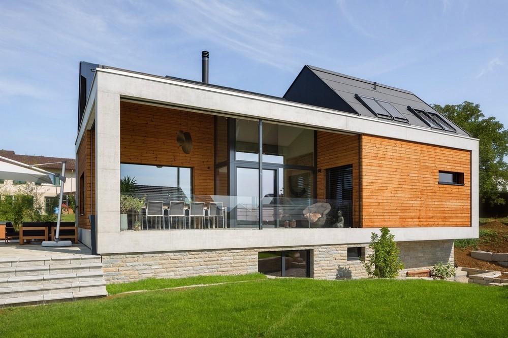 Дом для семьи в Швейцарии