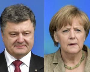 Впереди коррекция позиции по Донбассу: Порошенко и Меркель договорились о совместной конференцию с Олландом
