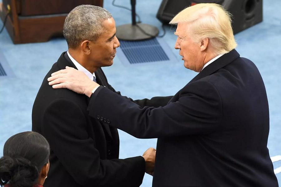 Трамп и Обама на инаугурации Трампа, 20.01.17.png