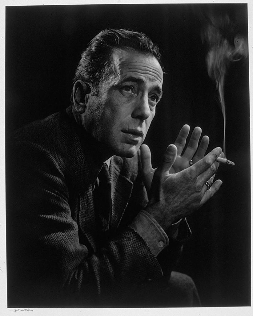 Хамфри Богарт1946 Юсуф Карш Канадский фотограф 1908-2002
